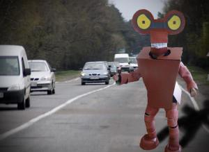 Sussex man posing as 'HitchBOT' busted hitching ride to job in Moncton