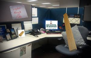 New Brunswick Labour and Employment Board revealed to be 2-by-4 placed in cubicle
