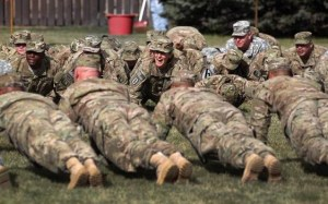 Canadian Forces solves fat problem by lowering standards