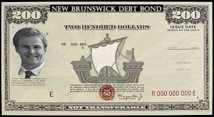 NB government selling 'debt bonds' as last-minute gift idea