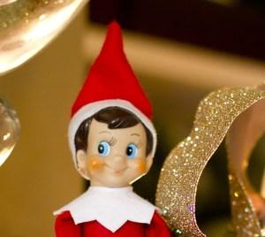 Children to shelf elf: 'Snitches get stitches'