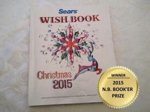 Sears Christmas catalogue wins NB literary prize, tops bestseller list