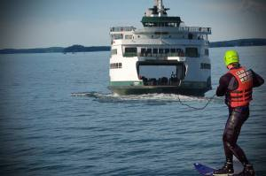 Desperate NB migrant escapes by water-skiing behind new Saint John ferry