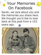 Facebook glitch claims NB users have been friends specifically since American Civil War