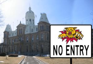 Man wears Wildcats jersey to legislature, speaker bans all Monctonians