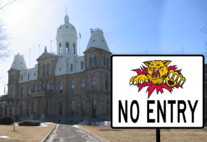 Man wears Wildcats jersey to legislature, speaker bans all Monctonians