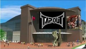Moncton secures Tapout sponsorship for new events centre