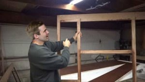 Gallant builds first DIY cabinet