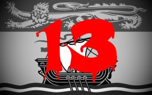'Number 13' to be completely removed from everything in New Brunswick