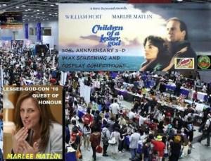 Fans of 1986 romantic drama filmed in Saint John fill Harbour Station for LESSER-GOD-CON '16