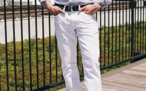 New Brunswick man still wearing white pants