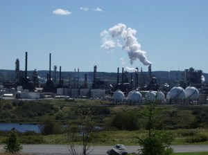 It is officially no longer 'too soon' to joke about Irving Oil refinery explosion
