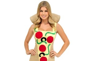 Woman concerned Halloween unfairly pressures pizza, corn to be sexy