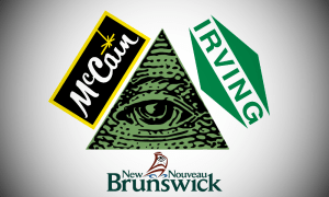 Proof of New Brunswick Illuminati surfaces during tax break investigation