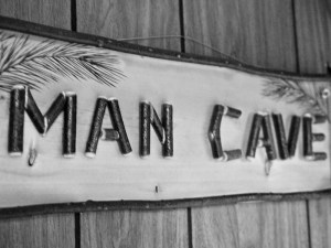 Last dying shred of masculinity relegated to 8-by-10-foot man cave