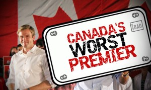 Gallant nominated for spot on new show 'Canada's Worst Premier'