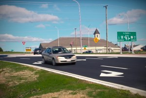 CBC still trying to convince Fredericton drivers that roundabout is no big deal