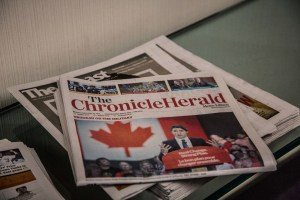 'Chronicle Herald' pretty confident it can run 28 more papers into the ground