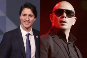 Justin Trudeau and Pitbull continue Canada 150 Atlantic tour