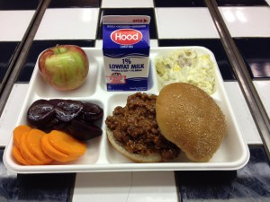 Saint John school cafeterias to continue serving students literal shit