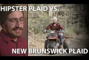 Hipsters worship plaid; New Brunswickers LIVE plaid