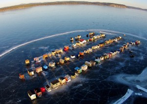 Ice-fishing shacks vote to separate from Rothesay