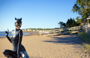 Report: Catwoman had evil plot to make Parlee Beach into litter box