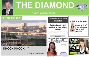 Don Darling launches satire site 'The Diamond'
