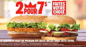 French-only Burger King coupon irks Dieppe consumer