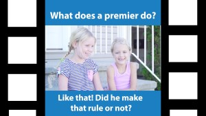 Kids talk about the NB provincial election – Part 1