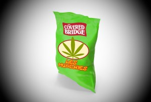 Covered Bridge launches 'Les Munchies' chips for Oct. 17