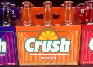 Orange Crush™ soda machine named new leader of the Liberal party
