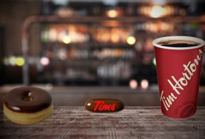 Tim Hortons unveils new double-double coffee suppository