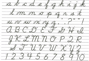 NB schools teaching cursive for fancy illiteracy