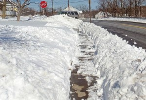 City of Moncton to remove all sidewalks because they're pointless
