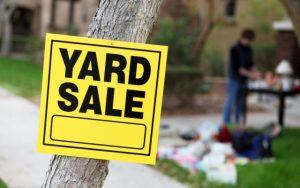 N.B. legalizes parking wherever the eff you want if stopping at yard sales
