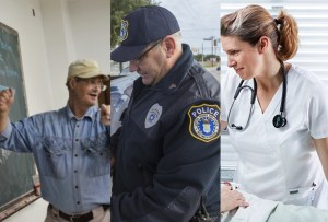 Shocking study reveals nurses, teachers, cops not special