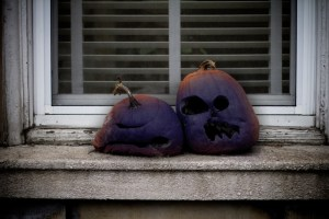 Activists call to remove rotting pumpkins because they also resemble blackface