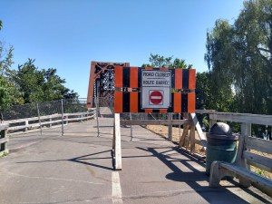 Fredericton residents want walking bridge closed for 'a little longer'