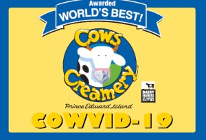COWS Inc. releases new ice cream flavour 'COWVID-19'