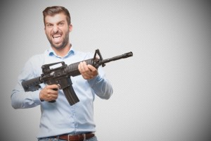 Non-profit aims to teach owners of banned assault weapons new ways to assert their masculinity