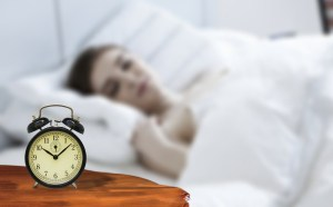 Woman can't stop waking up in unprecedented times