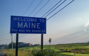 New Brunswick shows Maine that it is not above begging
