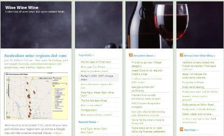 Snapshot wine regions web