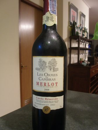 Les Ormes de Cambras - Merlot from France (2/5)
