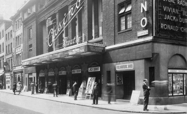London Casino, 1950