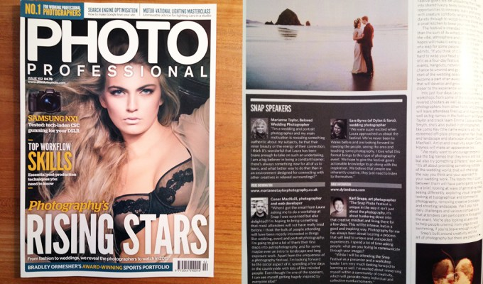 Appearance in Photo Professional Magazine