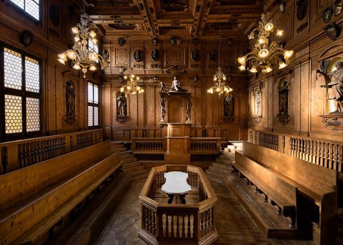 005.TMSV_Bologna, Teatro anatomico dell_Archiginnasio
