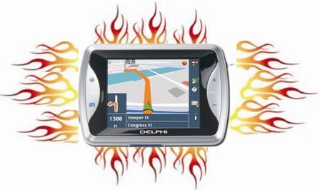 GPS in Flames