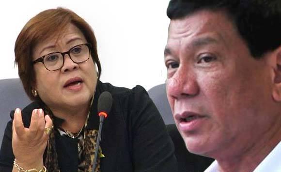 SENADORA HINDI RAW MATITINAG | De Lima kay Duterte: Respeto lang
